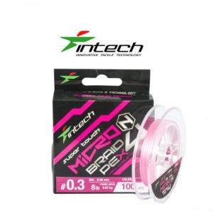 Шнур Intech MicroN PE X4 100m 0.2 (5.5lb/2.5kg)