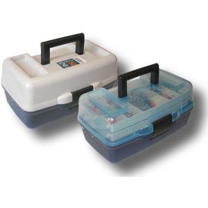 Ящик AQUATECH 1702 2х-полочный с прозрачной крышкой