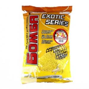 Прикормка Бомба Exotic Series Карп Бабл Гам
