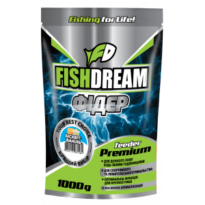 Прикормка Fish Dream Premium Фидер Бисквит-Ваниль 1кг