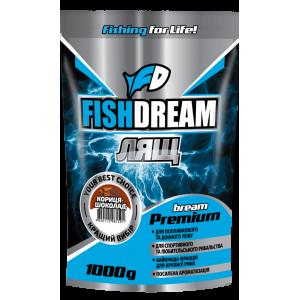 Прикормка Fish Dream Premium Лещ Корица-Шоколад 1кг