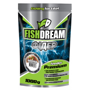 Прикормка Fish Dream Premium Фидер Шоколад-Орех 1кг