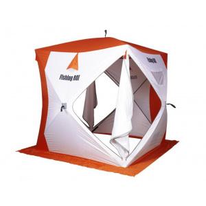 Палатка для зимней рыбалки Fishing ROI Cyclone-2 Куб 180*180*205см white-orange