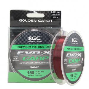 Леска Golden Catch EVO-X Carp SWP 150м 0.261мм