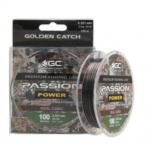 Леска Golden Catch Passion Power RC 100м 0.181мм
