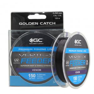 Леска Golden Catch Verte-X Feeder VN 150м 0.234мм