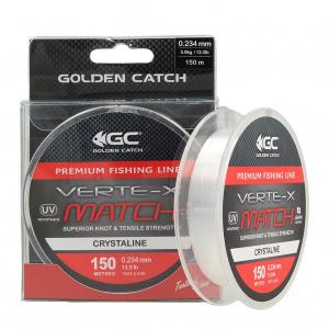 Леска Golden Catch Verte-X Match CRL 150м 0.165мм