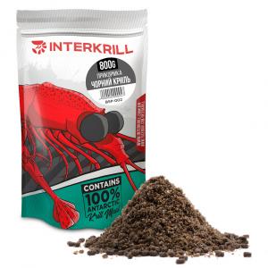 Прикормка INTERKRILL Черный Криль 800г