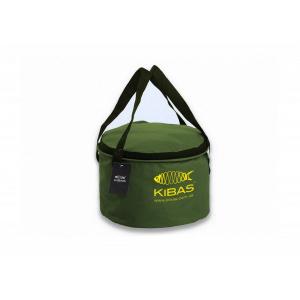 Ведро для прикормки c крышкой Kibas D 300 C
