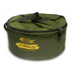 Ведро для прикормки c крышкой Kibas D 400 C