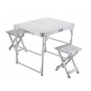 Стол складной + 2 стула Norfin BOREN NF Alu