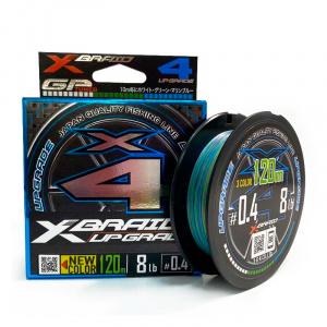 Шнур YGK X-Braid Upgrade 3C X4 120m #0.5 10lb / 4.54kg
