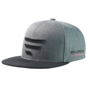 Кепка Favorite 336 черное лого 58 ц:серый