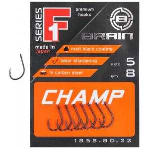Крючок Brain F1 Champ 05, 8 шт/уп