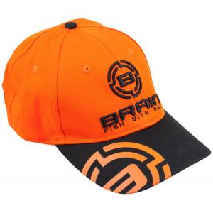 Кепка Brain 56 ц:черный/оранжевый